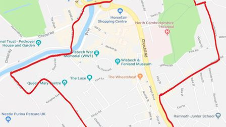 A dispersal order will be put in place in Wisbech on Thursday, July 26. Picture: Cambridgeshire Cons