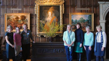 The 2020 Chelsea Team at Hatfield House on judging day. Picture: Isabelle Taylor