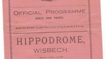 Steven Harding is looking for old Wisbech and March Town Football Club brochures
