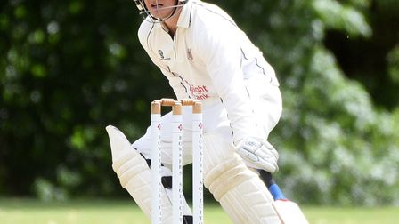 Danny Haynes has hit back-to-back half-centuries for Wisbech Town. Picture: IAN CARTER