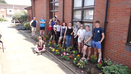 Young people taking part in the National Citizen Service in Wisbech have transformed the Salvation A