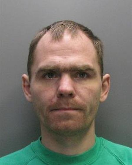 Robert Hunter, 33, was arrested in Leverington Road, Wisbech, following a pursuit after he failed to