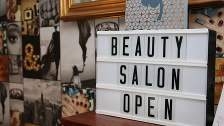 Lynn Stevens has moved her business, Beauty Bliss, from Hatfield Town Centre into her home after her