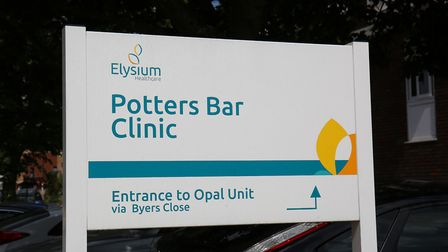Potters Bar Clinic. Picture: DANNY LOO