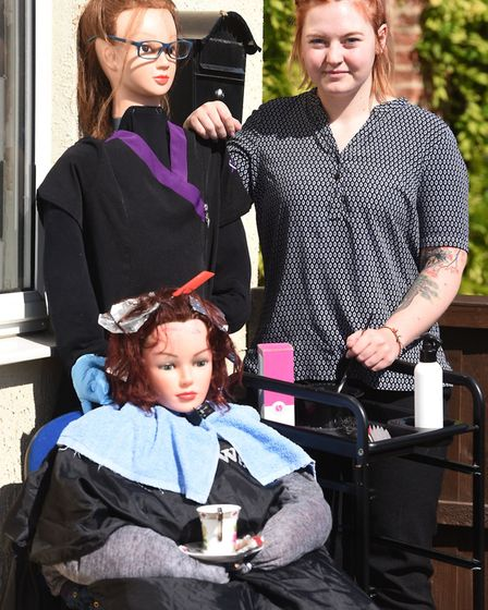 The annual Emneth Scarecrow Festival was held this weekend, with some imaginative creations. Photo: