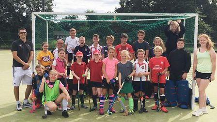 Wisbech Town Hockey Club held another two day Hockey Camp last week for boys and girls aged between