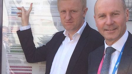 Potters Bar's MP Oliver Dowden. Picture: Mr Dowden's office.