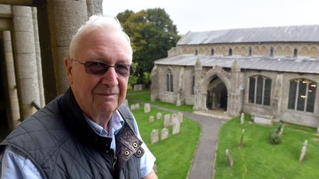 Heritage open day at West Walton Church's Bell tower.