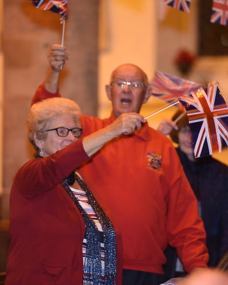Last Night of the Proms at Church of St Peter and St Paul in Wisbech. Picture: IAN CARTER