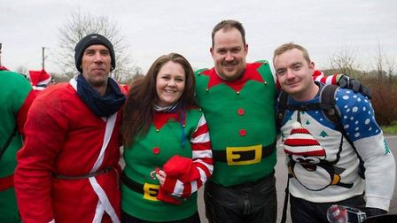 Wisbech 'Santa' motorcyclist Michael Alan Howard (left) remembered as an 'awesome bloke' and 'a big