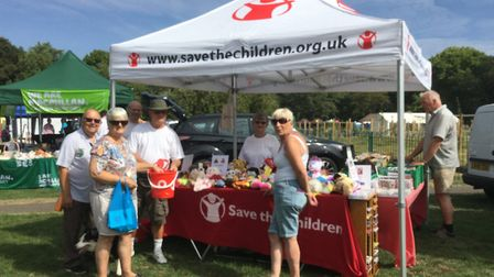 More than £430 has been raised for Save the Children at Parson Drove Car and Bike Show. Picture: SUB