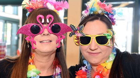 Morrisons Wisbech Carnival for CLIC Sargent Deborah Thulborn and Claire Dix. PHOTO: Ian Carter