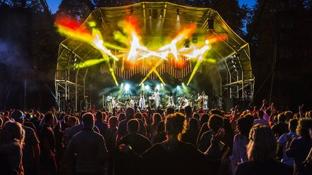 The Classic Ibiza concert at Hatfield House on Saturday evening. Picture: Jake Lewis.