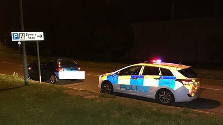 On Friday night (August 31) officers stopped a vehicle on South Brink, Wisbech. The driver had no in