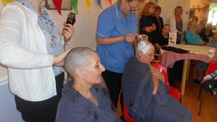 Nicole Thompson and Diane Parker have raised £1,500 for Macmillan Cancer Support after both braving