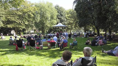 Music in the park at Wisbech bandstand PHOTO: Tom Read