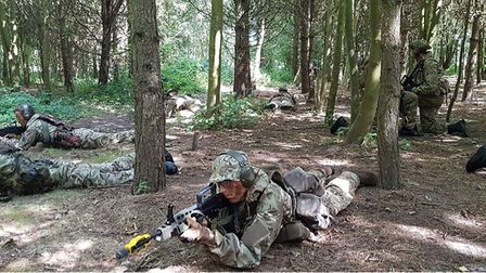 Are you up for the challenge? Wisbech army cadets are holding an open day on September 22. Picture: