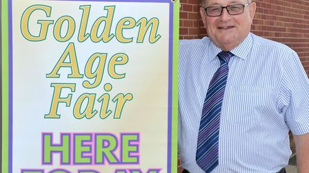 Golden Age Fair in Wisbech. Cllr Mike Cornwell. Picture: Steve Williams.