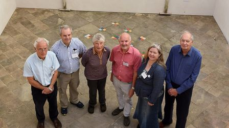Paul Eden, Eric Somerville, Sue Beel, David Crouch, Lorena Hodgson and Andre Newman at Wisbech Gener