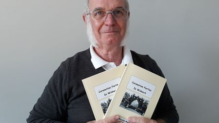 Kevin Rodgers has written a book called Coronation Parties in Wisbech. PHOTO: Kath Sansom