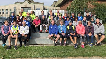 March AC at the Round Norfolk Relay. PHOTO: Debra Wait