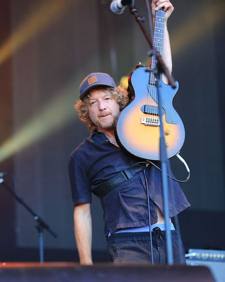 John Power of Cast at Cool Britannia Festival 2018. Picture: KEVIN RICHARDS