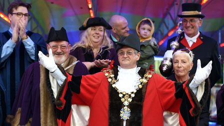 All the fun at the fair: Mayor of Wisbech, Councillor Peter Human opened the annual fair on Wednesda