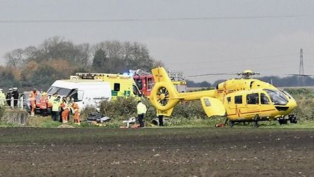Two people died and one suffered life changing injuries in a two-car collision in Murrow on November