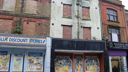 Fenland District Council has agreed to bring derelict properties at 11-12 High Street, Wisbech, back