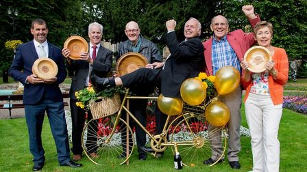 Wisbech in Bloom volunteers to be given the Freedom of Wisbech honour. PHOTO: Roger Rawson