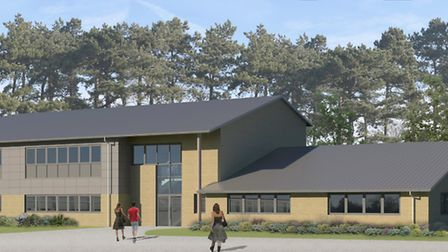 An artist's impression of Onslow St Audrey's School in Hatfield. Pictures: Onslow St Audrey's Scho