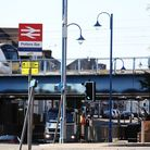 Potters Bar train station, Potters Bar. Picture: DANNY LOO