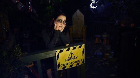 Castle of the Dead Halloween event at Wisbech Castle.