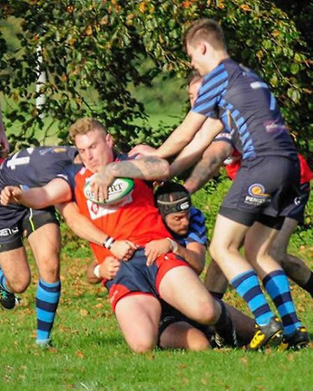 Wisbech Rugby Club: Mikey Watts. Picture: LEONARD VEENENDAAL.