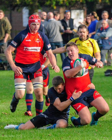 RUGBY: Wisbech v Fakenham. Picture: ANDREW LISTER.