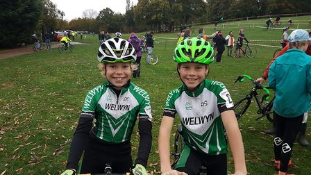 Welwyn Wheelers' dynamic duo were at it again as Rupert Cavill and Fin Woodliffe were first and seco