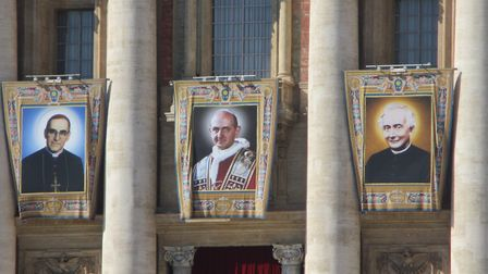 Pope Paul Catholic Primary School in Potters Bar went to Rome to celebrate the canonisation of Pope