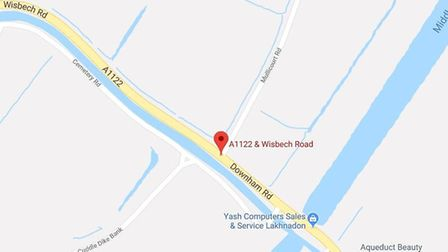 Police were called around 4.20pm on Saturday 3 November 2018 to reports of a collision on the A1122
