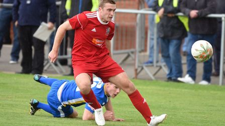 Adam Millson scored for Wisbech as they were beaten 2-1 by Kidsgrove Athletic in the FA Trophy - but