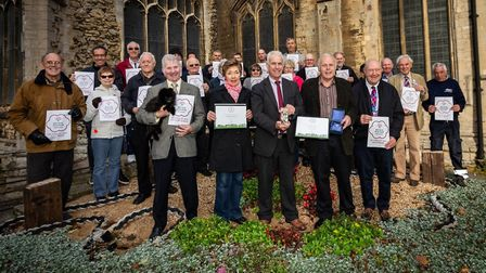 Celebration time for Wisbech in Bloom after a stunning set of results in 2018. But there is a doubt