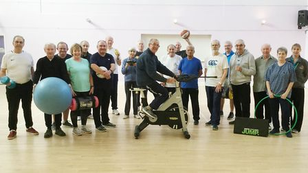 Healthy Hearts Club is part of the Whittlesey Sports Association which takes place at the Manor Leis
