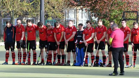 Wisbech Town Mens First Hockey Team match against Old Southendian. Picture: IAN CARTER