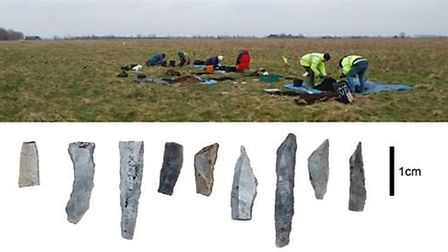 Fenland Archaeological Society will be holding a talk about the area in the Stone Age. Pictured is s