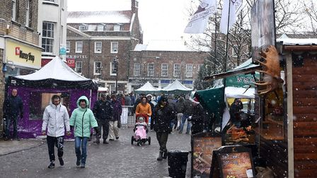 More than 5,000 are expected at this years Wisbech Christmas Fayre. Picture: IAN CARTER