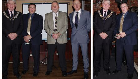 Chairman Tony Yates welcomed many members again and with two guests at the Mendi's. Picture: SUBMITT