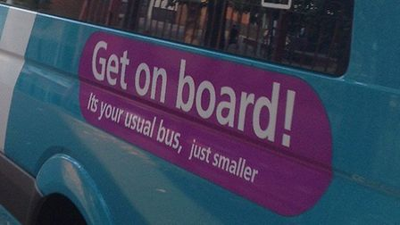 Pupils were left stranded after Arriva sent a minibus instead of a full-size bus. Picture: supplied