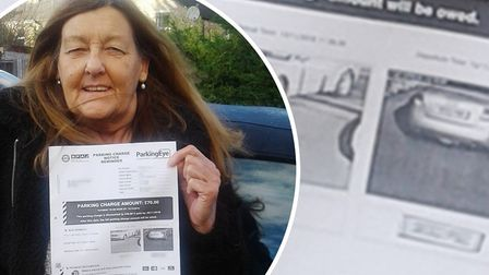 A disabled woman from Wisbech has had her £70 fine for over-staying in Aldi car park scrapped. Pictu