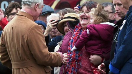 Prince Charles and the Duchess of Cornwall paid a Royal Visit to Wisbech today. Large numbers turned