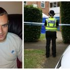 Andrew Mason died at a block of flats in Welwyn Garden City. Pictures: Herts Police/Danny Loo