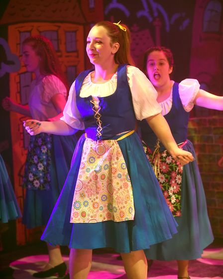 Jack and the Beanstalk at the Angles Theatre in Wisbech. Picture: IAN CARTER.